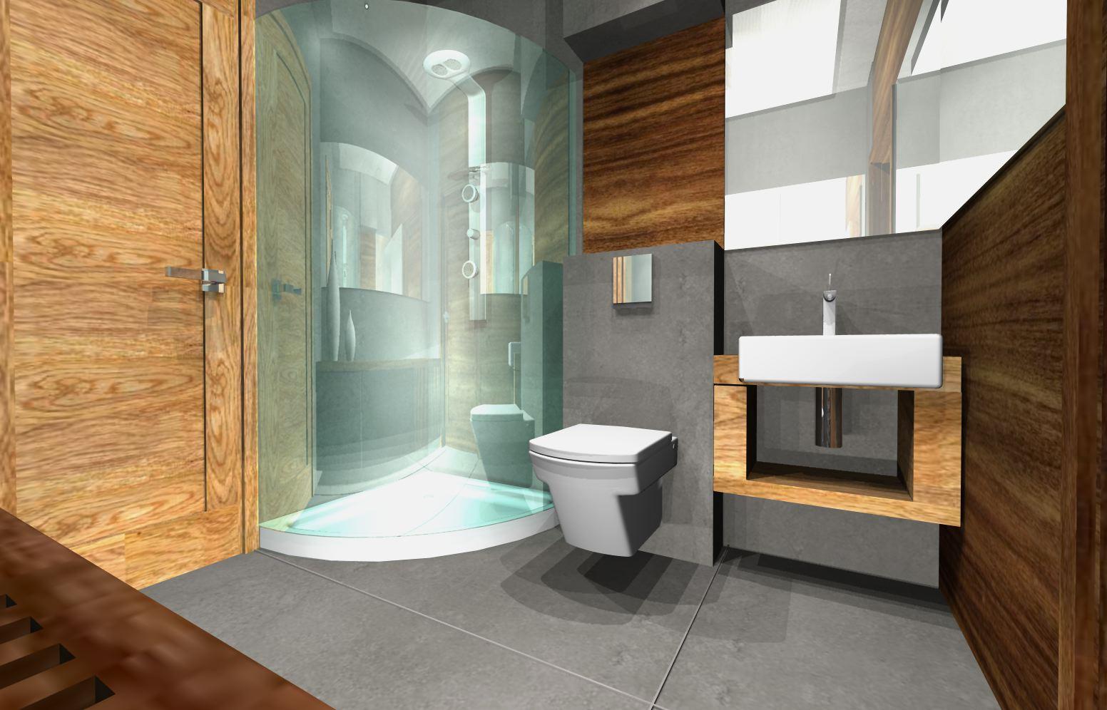 3(1) projekty łazienek nowoczesnych