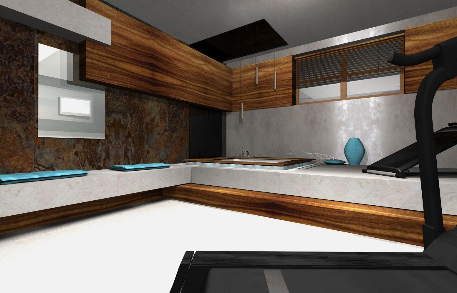 5ok projekty łazienek nowoczesnych