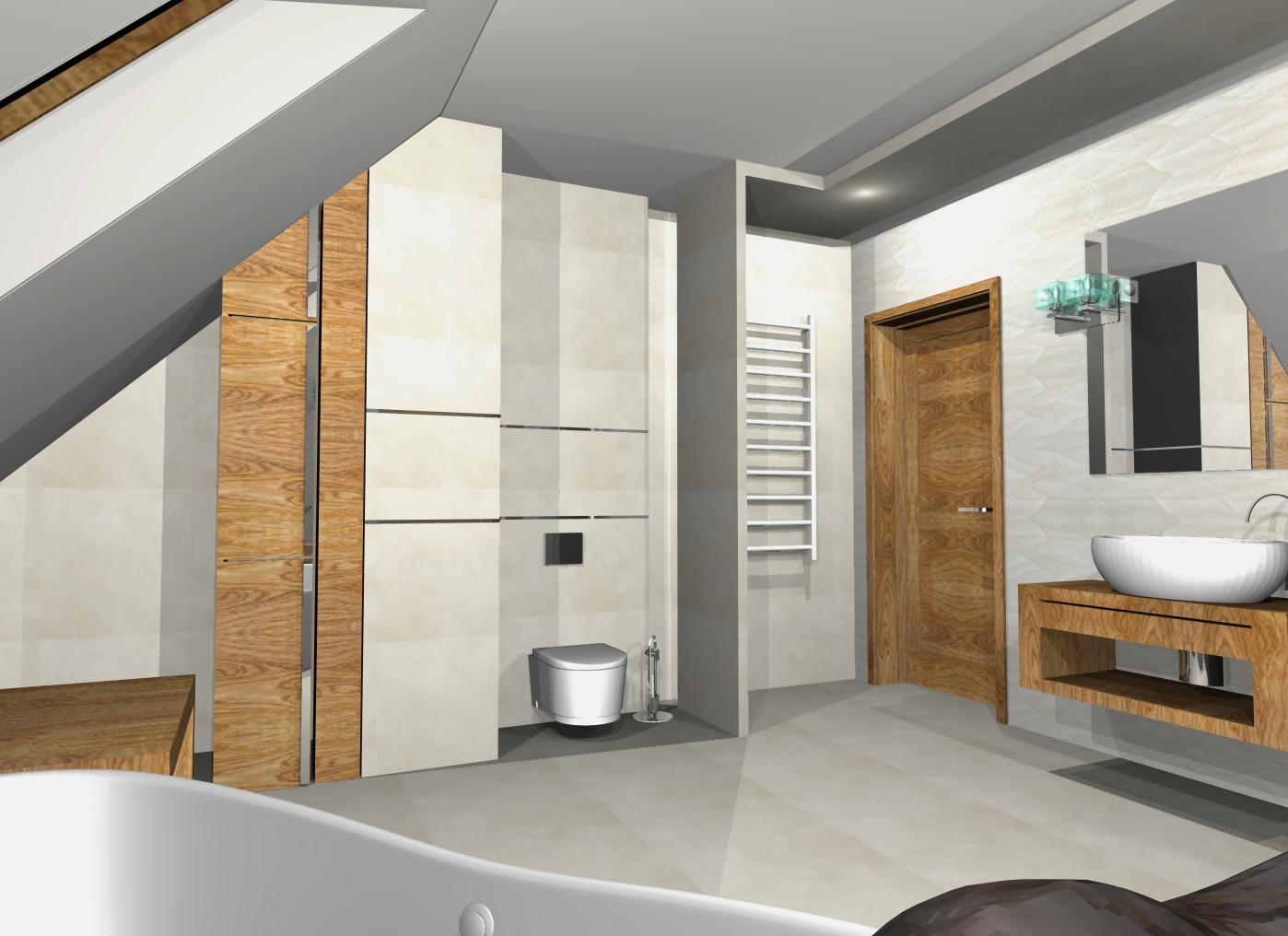 projekty łazienek nowoczesnych