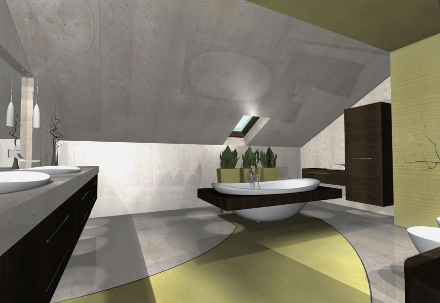Galeria łazienek w betonie