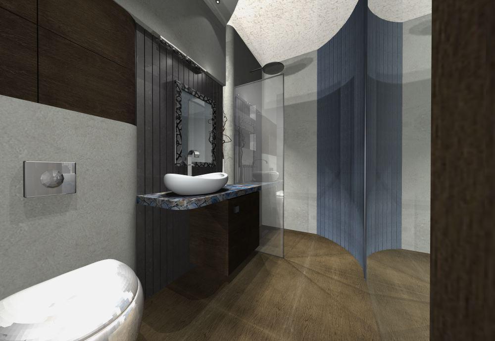 nowoczesne retro w łazience