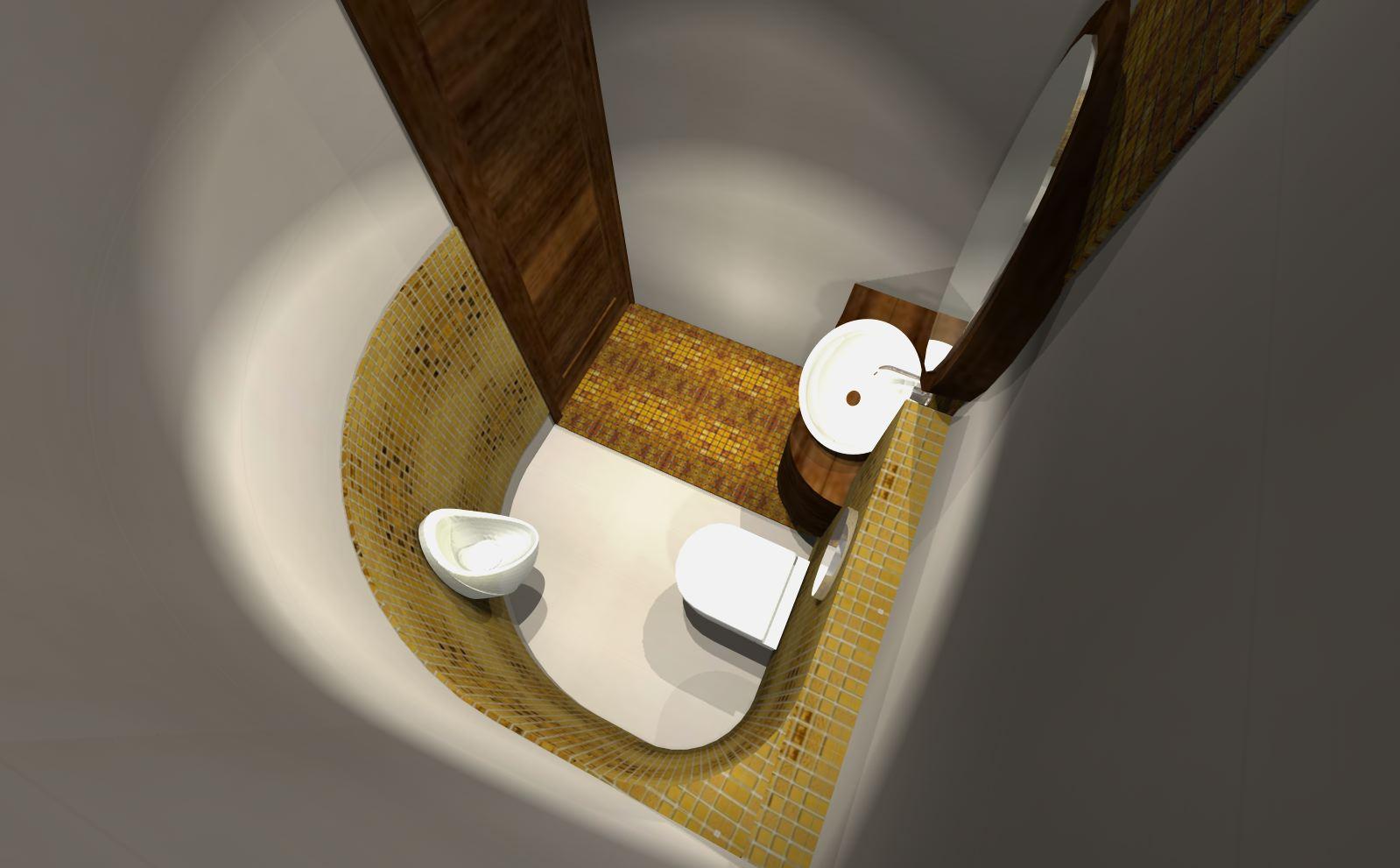 złota6 projekty łazienek nowoczesnych