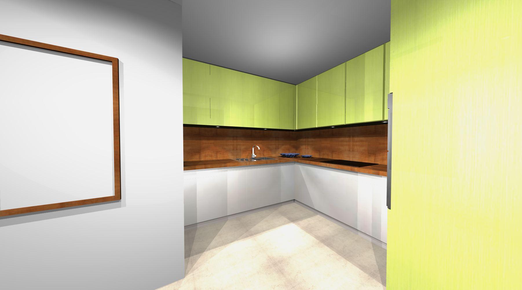 Projekty Kuchni > Aranżacje Kuchni -> Kuchnia Na Wymiar Zielona Góra