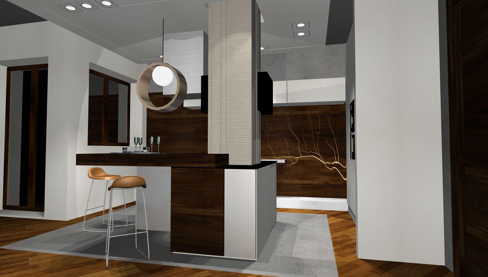 projekty kuchni nowoczesnych kuchnie na wymiar -> Inspiracje Kuchni Nowoczesnych