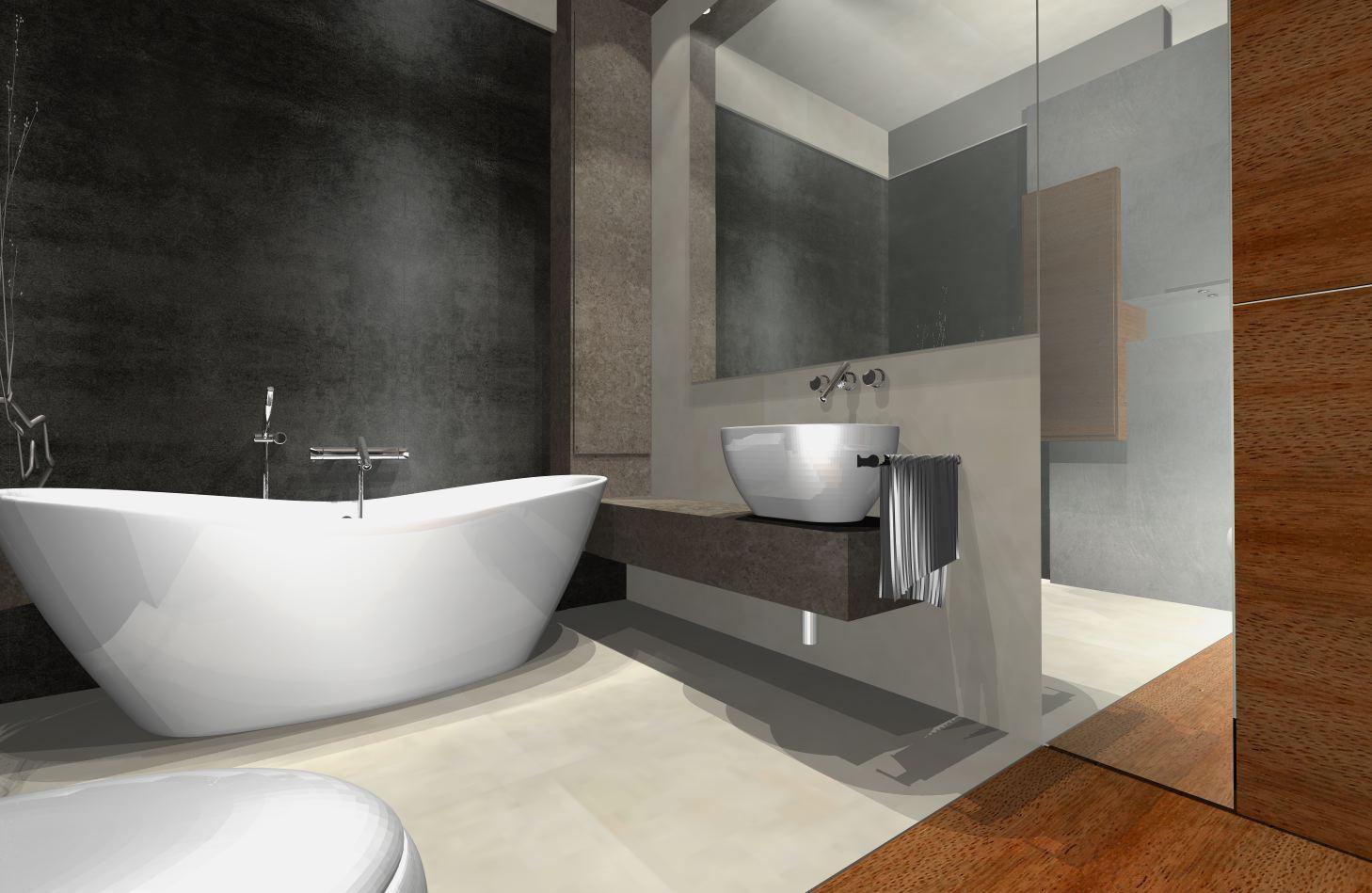 Galeria łazienek nowoczesnych > Projekty łazienek nowoczesnych