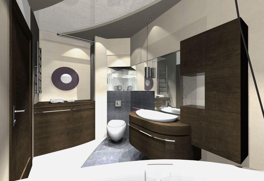 Projekty łazienek aranżacje - Galeria